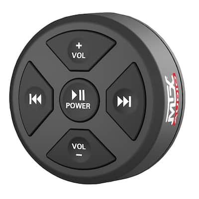 MUDBTRC Universal Boat Motorcycle Bluetooth Audio Receiver & Remote Control