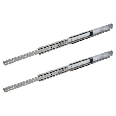 36 in. Industrial Duty Full Extension Ball Bearing Side Mount Drawer Slide 1-Pair (2 Pieces)