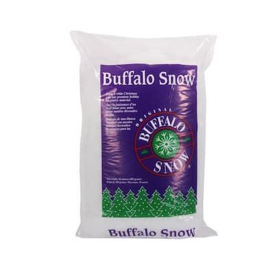 6 in. Buffalo Snow Fluff Cover Bag