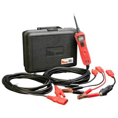 Circuit Tester with Case and Accessories - Red