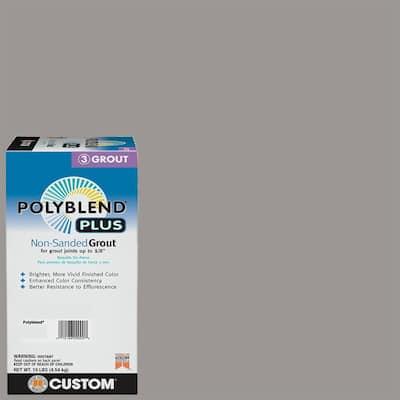 Polyblend Plus #165 Delorean Gray 10 lb. Non-Sanded Grout