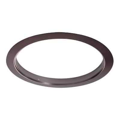 6 in. Tuscan Bronze Recessed Ceiling Light Designer Trim Ring