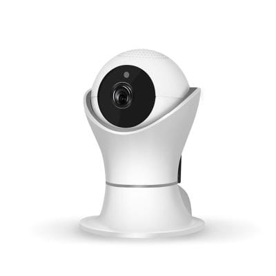 Full HD 2MP Indoor Wireless W-iFi Security Camera with Night Vision, Motion Detection 2-Way Audio, and PTZ Rotation