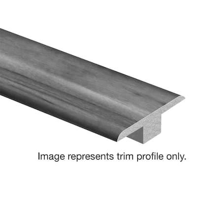 Claddon Oak 7/16 in. T x 1-3/4 in. Wide x 72 in. Length Laminate T-Molding
