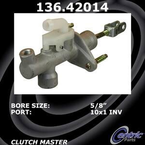 Centric Parts 136.62041 Clutch Master Cylinder