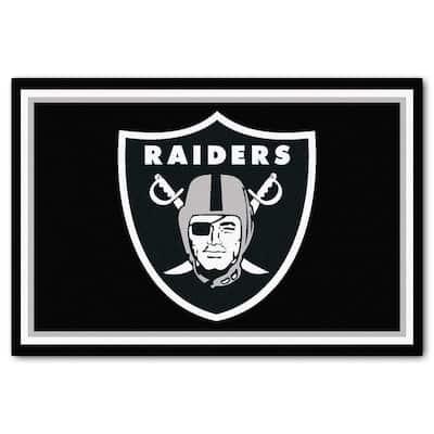 NFL - Las Vegas Raiders 5 ft. x 8 ft. Area Rug