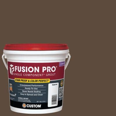 Fusion Pro #646 Coffee Bean 1 Gal. Single Component Grout