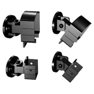 Black Aluminum Universal Connector Rail Kit