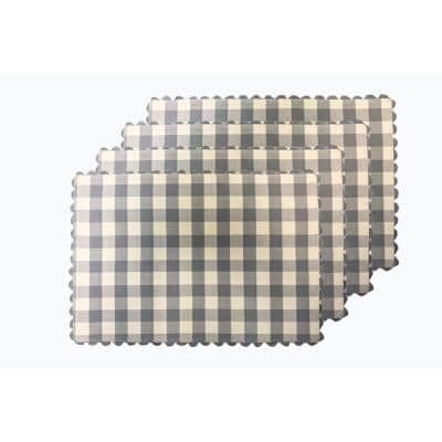 Buffalo Check Navy Reversible Placemat (Set of 4)