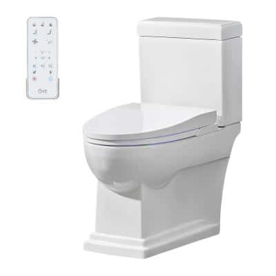Nova Elongated Electric Bidet in White