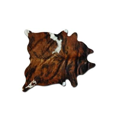 Josephine Classic Brindle 6 ft. x 7 ft. Specialty Cowhide Area Rug