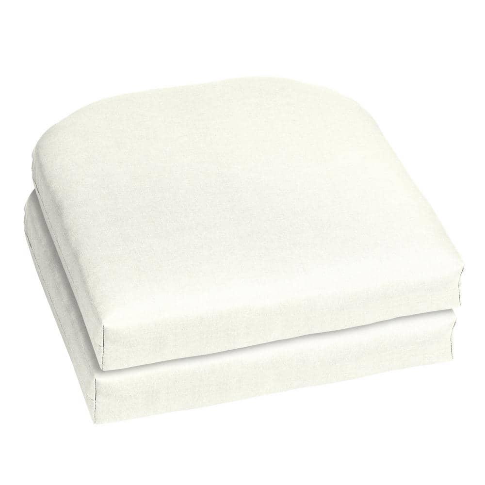 White Outdoor Chair Cushion 2, White Outdoor Chair Cushions