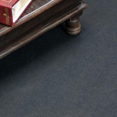 """ReUz"" Rubber Flooring Rolls Black 48 in. W x 600 in. L Rubber Flooring (200 sq. ft.)"
