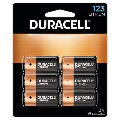 Duracell - 123 High Power Lithium Batteries - (6-Pack)