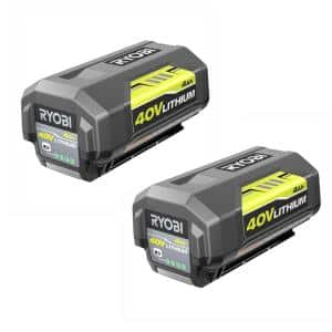 40-Volt Lithium-Ion 4 Ah High Capacity Battery (2-Pack)