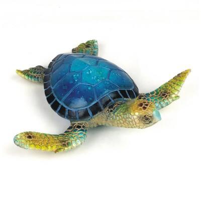 6.25 in. Blue Sea Turtle Figurine
