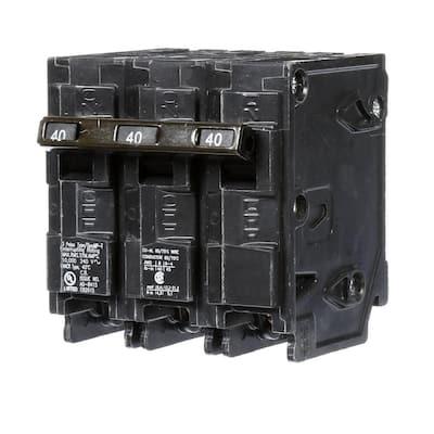 40 Amp Three-Pole Type MP Circuit Breaker