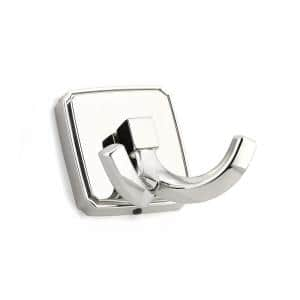 2-1/8 in. (53.6 mm) Polished Nickel Decorative Hook
