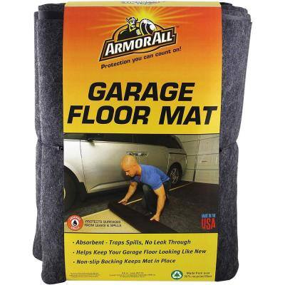 22 ft. x 8.8 ft. Charcoal Gray XL Garage Flooring