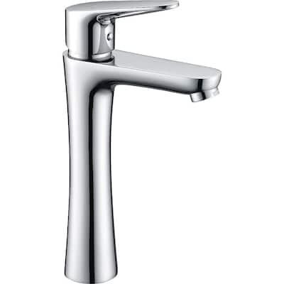 Vivace Single Hole Single-Handle Bathroom Faucet in Polished Chrome