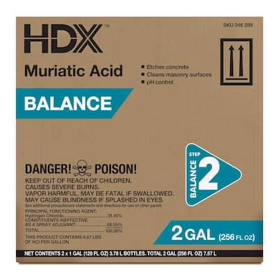 1 Gal. Muriatic Acid Balancer (2-Pack)