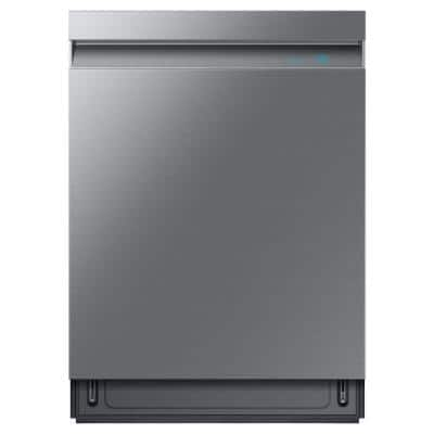 24 in. Top Control Tall Tub Dishwasher in Fingerprint Resistant Stainless Steel with AutoRelease, 3rd Rack, 39 dBA