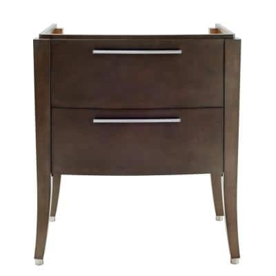 Townsend 30 in. Bath Vanity Cabinet Only in Smoked Grey