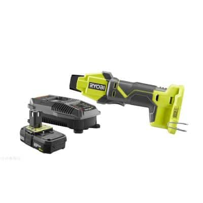 ONE+ 18V Lithium-Ion Cordless PEX Tubing Clamp Tool Kit with ONE+ 2.0 Ah Battery and 18V Charger