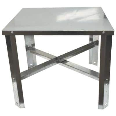21 in. D x 21.25 in. W x 18 in. H Water Heater Stand
