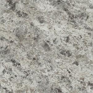 4 ft. x 8 ft. Laminate Sheet in 180fx Silver Flower Granite with Artisan Finish
