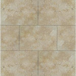 24 in. x 16 in. x 1.18 in. Riviera Tumbled Travertine Paver Tile (2.67 sq. ft.)