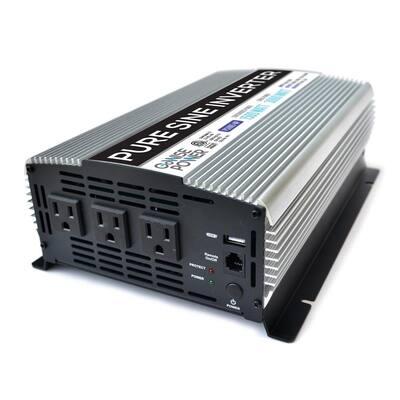 1,500-Watt Continuous/3,000-Watt Peak Pure Sine Wave Inverter