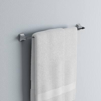 Shangri-La 18 in. Towel Bar in Chrome