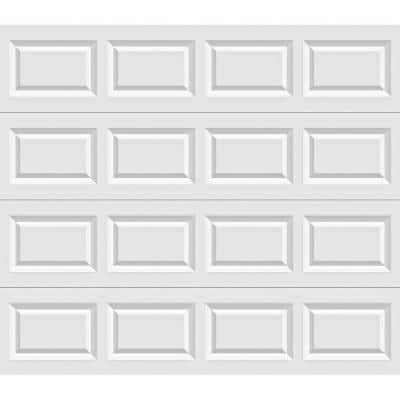 Classic Collection 8 ft. x 7 ft. Non-Insulated White Garage Door