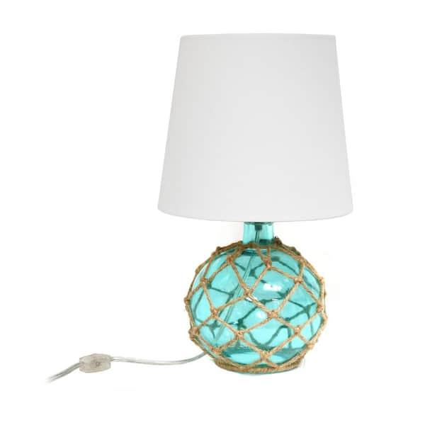 Elegant Designs 15 25 In 1 Light Aqua, Ocean Themed Lamps
