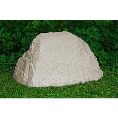 36 in. H x 58 in. W x 44 in. L Extra Large Landscape Boulder, Sandstone Resin