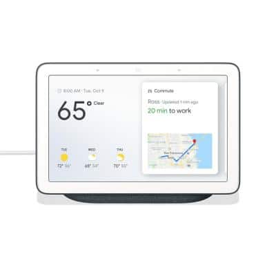 Nest Hub 1st Gen - Smart Home Speaker and 7 in. Display with Google Assistant - Charcoal