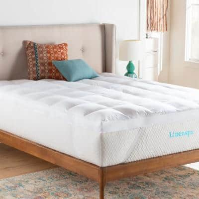 3 in. Down Alternative Fiber Bed Mattress Topper