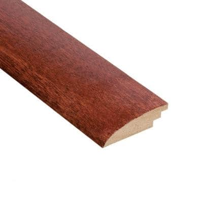 High Gloss Santos Mahogany 1/2 in. Thick x 2 in. Width x 78 in. Length Hard Surface Reducer Molding