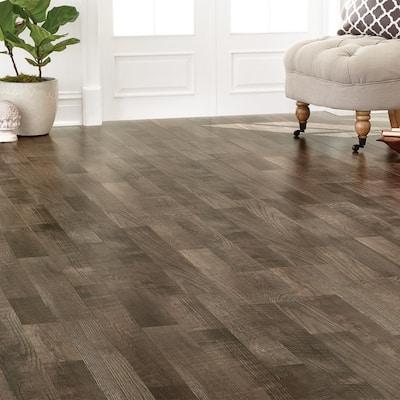 Gray Rustic Laminate Wood Flooring