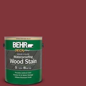 1 gal. #S-H-160 Sly Fox Solid Color Waterproofing Exterior Wood Stain