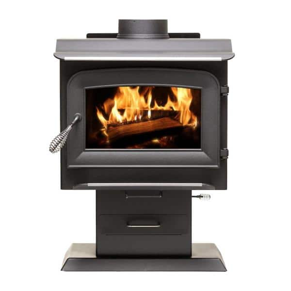 Ashley Hearth Products 1 200 Sq Ft 2020 Epa Certified Wood Burning Stove Aw1120e P The Home Depot