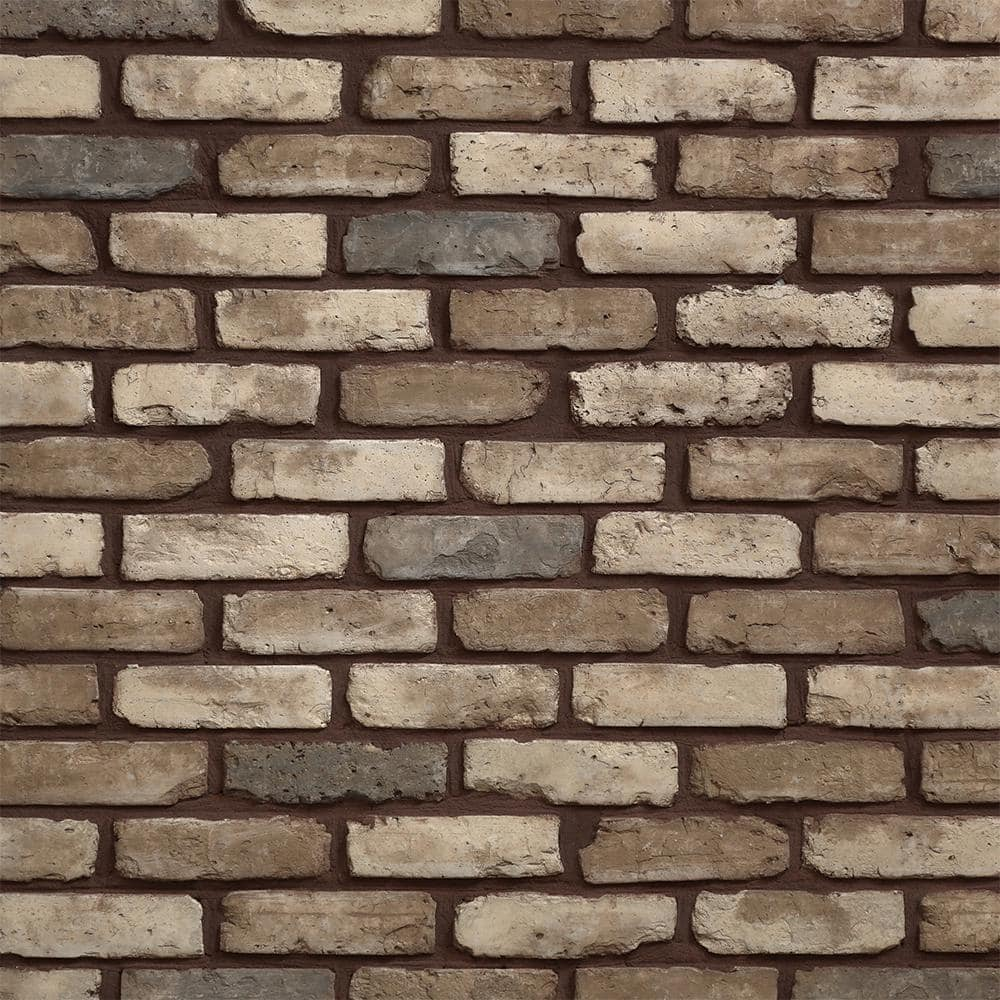 Koni Brick Old Chicago Cafe 7 08 In X 2 50 In Thin Brick 5 90 Lin Ft Corners Manufactured Stone Siding Kbcn 456cafe The Home Depot