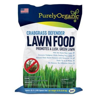 15 lbs. Crabgrass Defender Lawn Food 10-0-2, Covers 3,000 sq. ft.