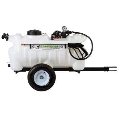 Trailer Sprayer 25 Gal. 12-Volt Boomless for ATV's, UTV's and Lawn Tractors