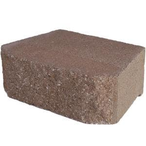 6.75 in. L x 11.63 in. W x 4 in. H Savannah Retaining Wall Block ( 144 Pieces/ 46.6 Sq. ft./ Pallet)