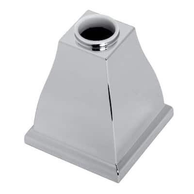Town Square Handle Base Kit, Polished Chrome