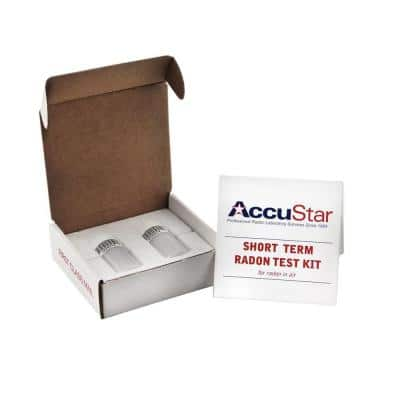 Double Application Short-Term Liquid Scintillation Radon Test Kit with Labortory Analysis Included