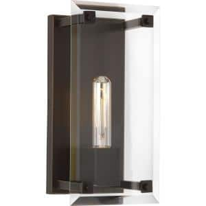 Hobbs Collection 1-Light Antique Bronze Wall Sconce