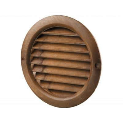 4 in. Decorative Round Vent Cover (2-Pack)